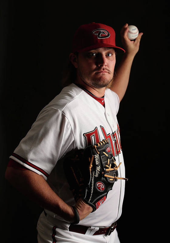 Media Day Poster featuring the photograph Wade Miley by Christian Petersen