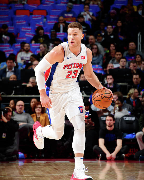 Nba Pro Basketball Poster featuring the photograph Blake Griffin by Chris Schwegler