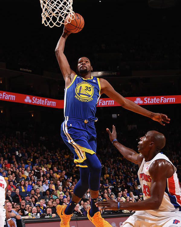 Nba Pro Basketball Poster featuring the photograph Kevin Durant by Noah Graham