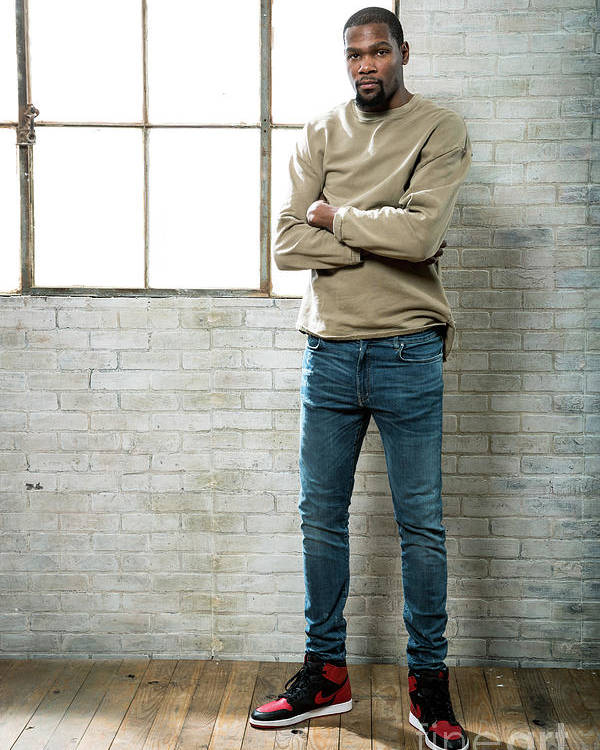 Nba Pro Basketball Poster featuring the photograph Kevin Durant by Nathaniel S. Butler