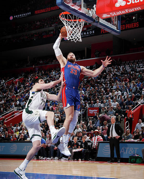 Playoffs Poster featuring the photograph Blake Griffin by Brian Sevald