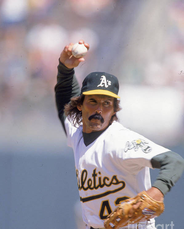 1980-1989 Poster featuring the photograph Dennis Eckersley by Ron Vesely