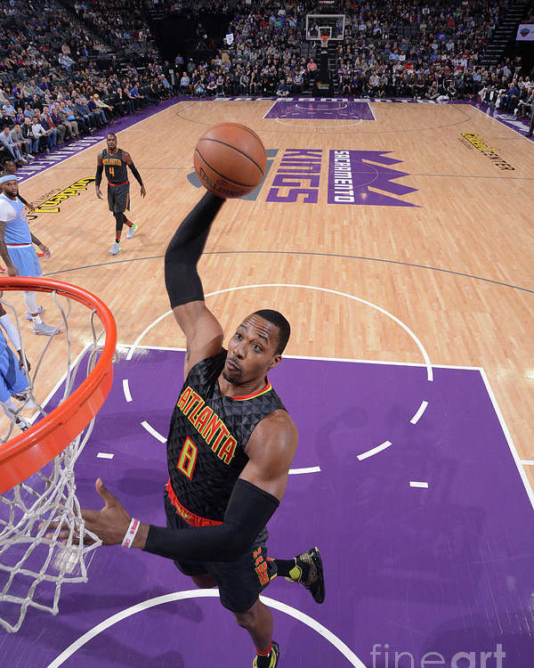 Nba Pro Basketball Poster featuring the photograph Dwight Howard by Rocky Widner