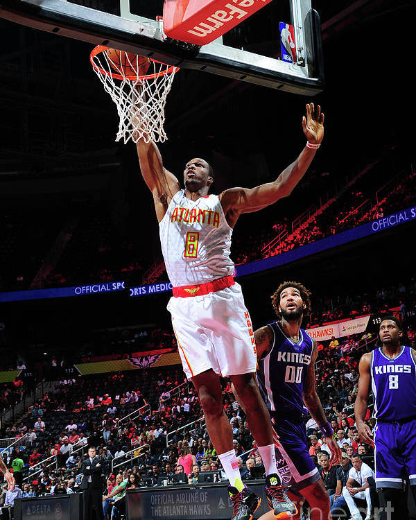 Atlanta Poster featuring the photograph Dwight Howard by Scott Cunningham