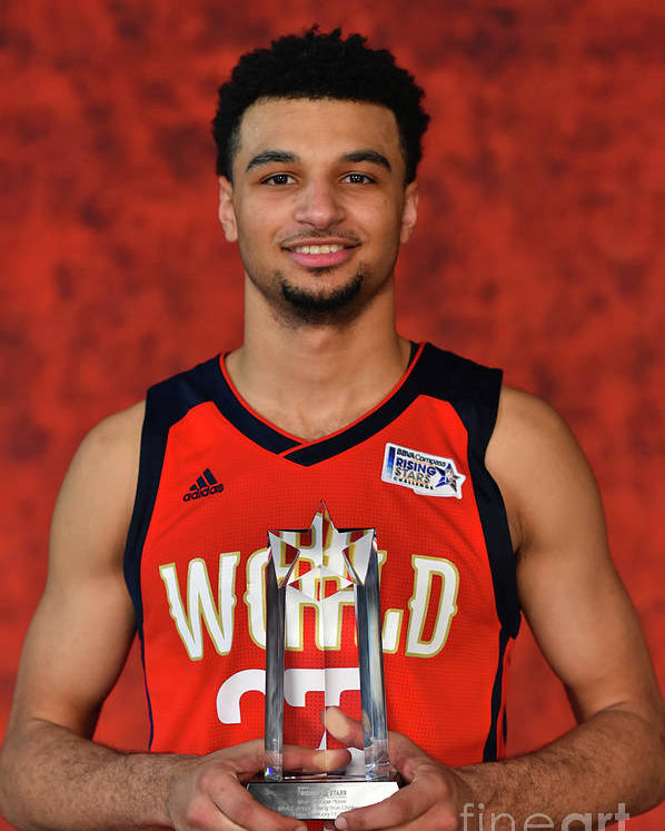 Smoothie King Center Poster featuring the photograph Jamal Murray by Jesse D. Garrabrant