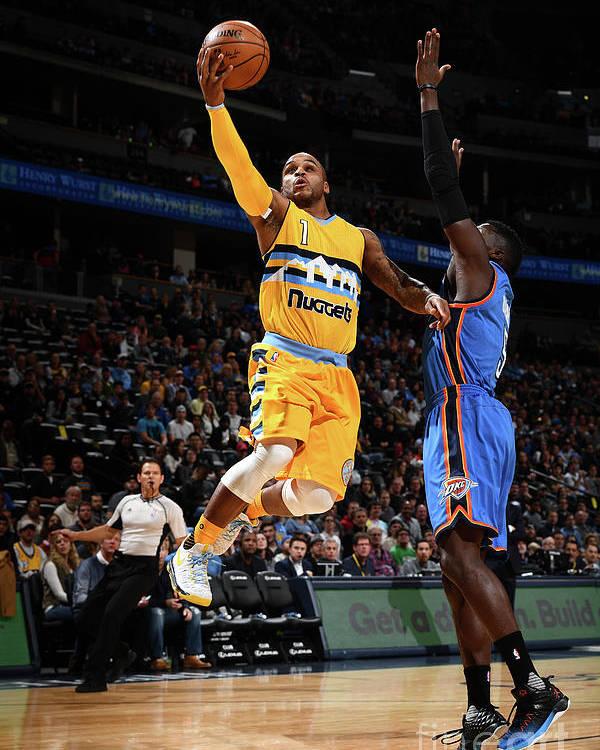 Nba Pro Basketball Poster featuring the photograph Jameer Nelson by Garrett Ellwood