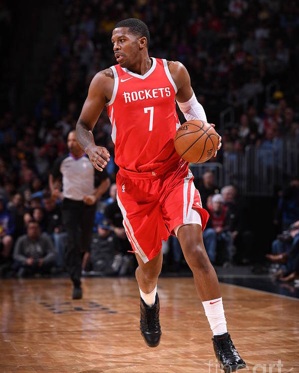 Nba Pro Basketball Poster featuring the photograph Joe Johnson by Garrett Ellwood