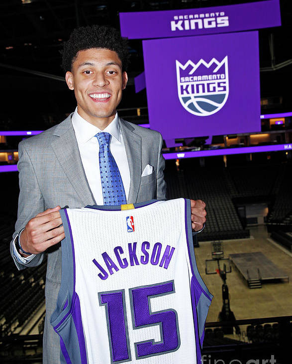 Nba Pro Basketball Poster featuring the photograph Justin Jackson by Rocky Widner