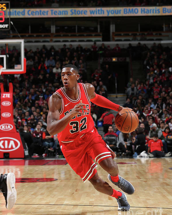 Chicago Bulls Poster featuring the photograph Kris Dunn by Gary Dineen