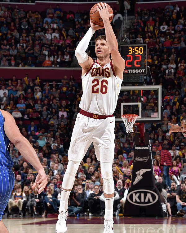 Nba Pro Basketball Poster featuring the photograph Kyle Korver by David Liam Kyle