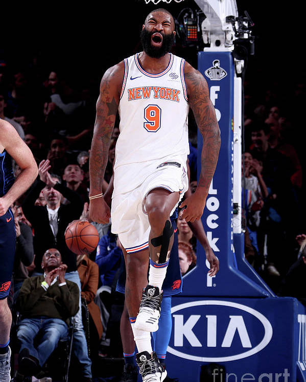 Nba Pro Basketball Poster featuring the photograph Kyle O'quinn by Nathaniel S. Butler