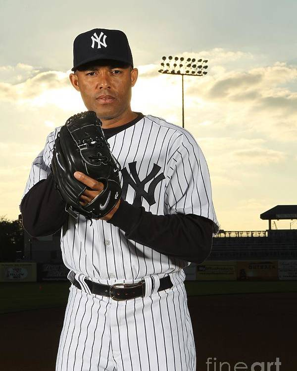 Media Day Poster featuring the photograph Mariano Rivera by Nick Laham