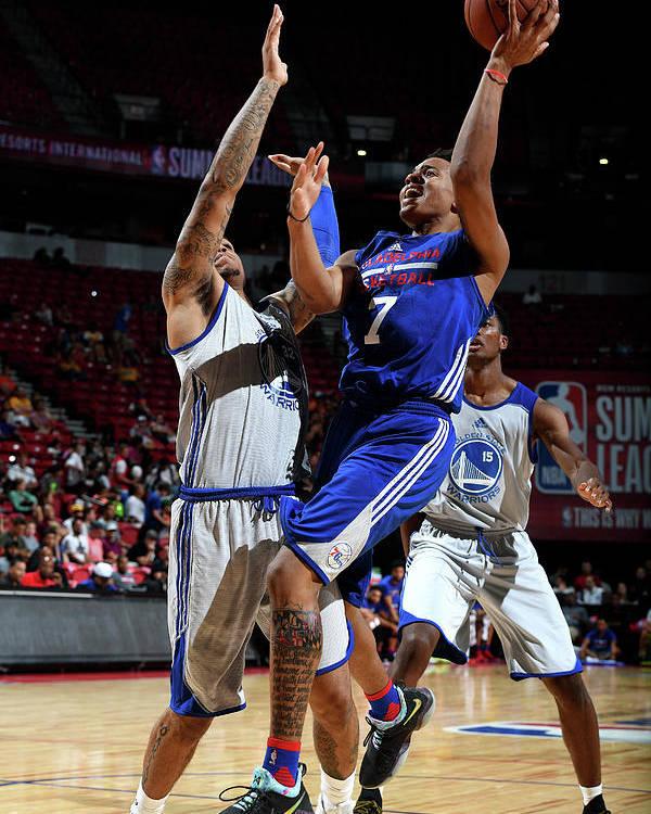 Nba Pro Basketball Poster featuring the photograph Markelle Fultz by Garrett Ellwood