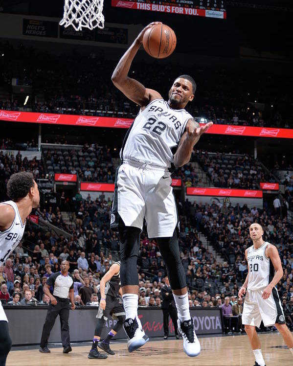 Nba Pro Basketball Poster featuring the photograph Rudy Gay by Mark Sobhani