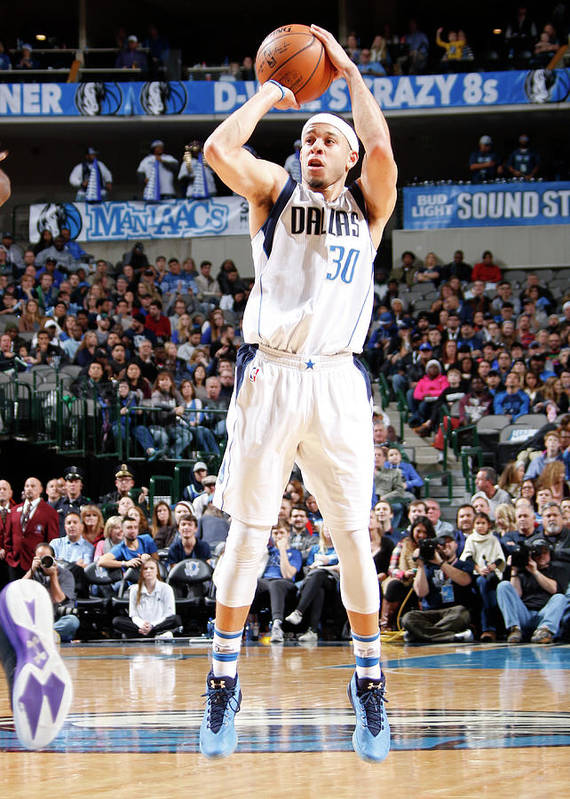 Nba Pro Basketball Poster featuring the photograph Seth Curry by Danny Bollinger