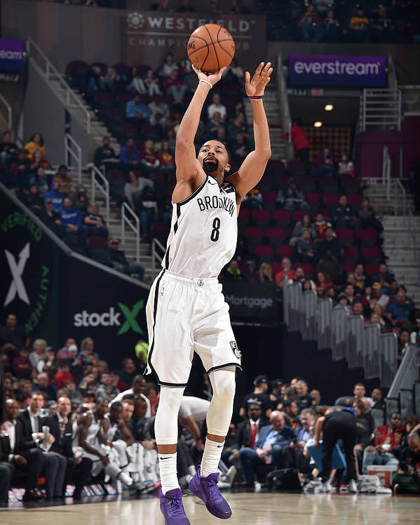 Nba Pro Basketball Poster featuring the photograph Spencer Dinwiddie by David Liam Kyle