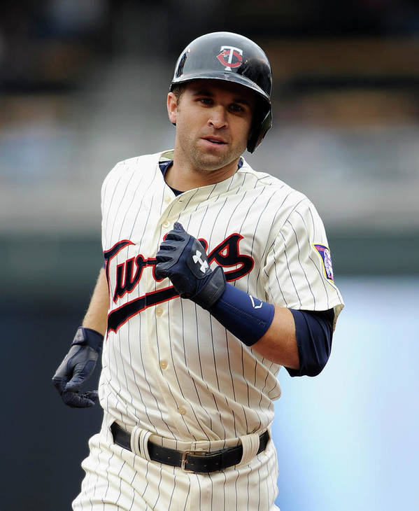 American League Baseball Poster featuring the photograph Brian Dozier by Hannah Foslien