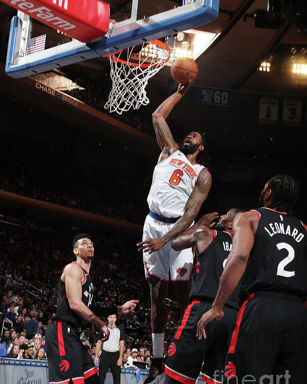 Nba Pro Basketball Poster featuring the photograph Deandre Jordan by Nathaniel S. Butler