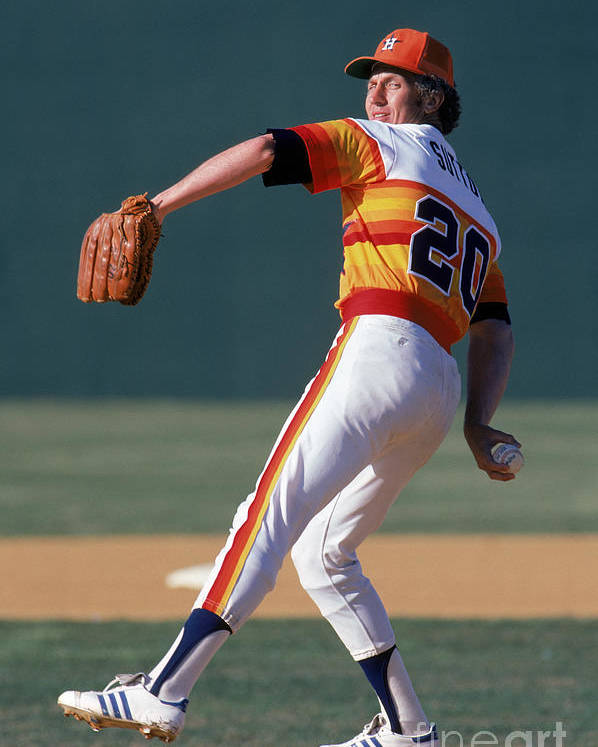 1980-1989 Poster featuring the photograph Don Sutton by Rich Pilling