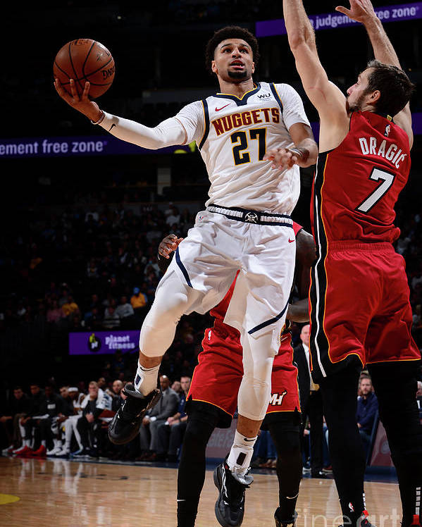 Nba Pro Basketball Poster featuring the photograph Jamal Murray by Bart Young