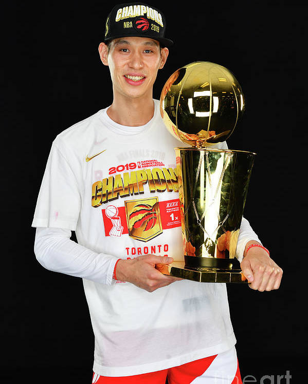 Playoffs Poster featuring the photograph Jeremy Lin by Jesse D. Garrabrant