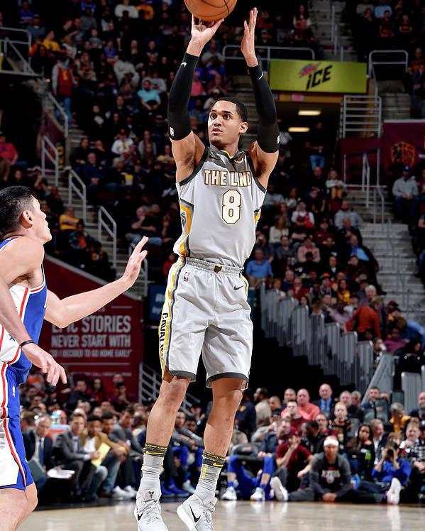 Nba Pro Basketball Poster featuring the photograph Jordan Clarkson by David Liam Kyle