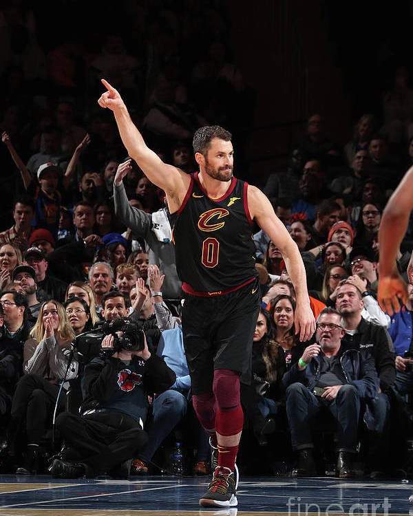 Nba Pro Basketball Poster featuring the photograph Kevin Love by Nathaniel S. Butler