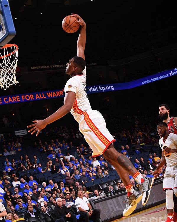 Nba Pro Basketball Poster featuring the photograph Kevon Looney by Noah Graham