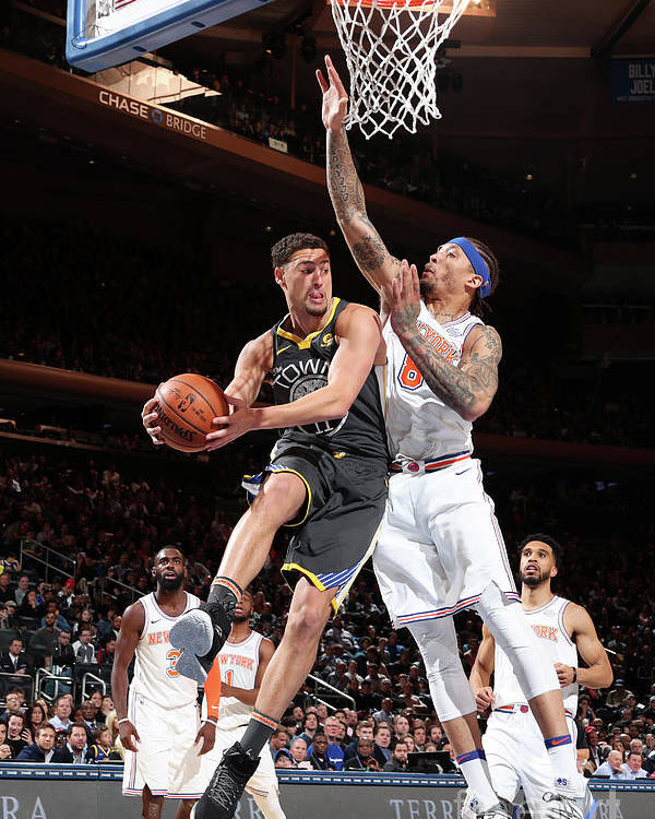 Nba Pro Basketball Poster featuring the photograph Klay Thompson by Nathaniel S. Butler