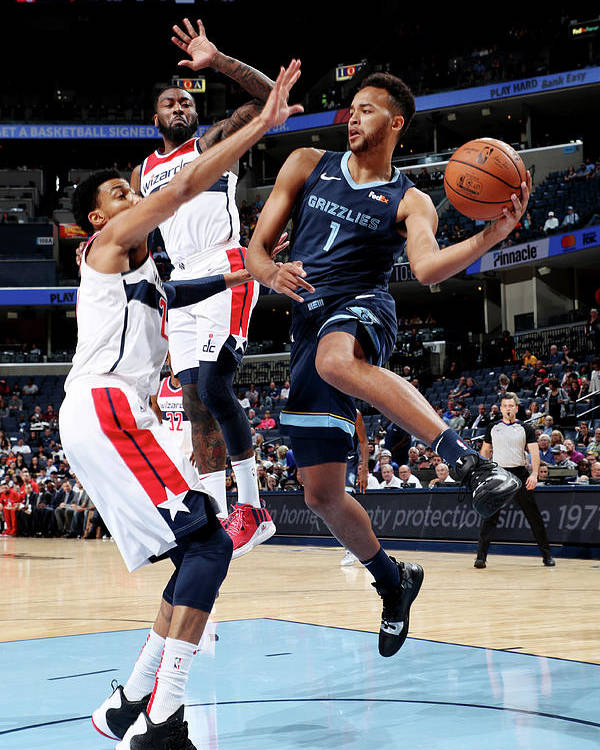 Nba Pro Basketball Poster featuring the photograph Kyle Anderson by Joe Murphy
