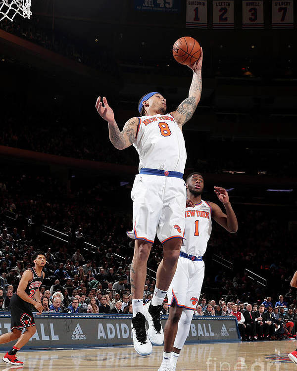Michael Beasley Poster featuring the photograph Michael Beasley by Nathaniel S. Butler