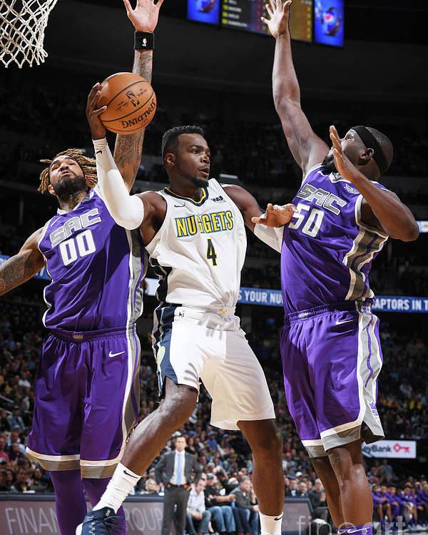 Nba Pro Basketball Poster featuring the photograph Paul Millsap by Garrett Ellwood