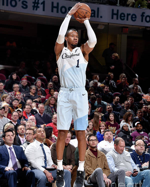 Nba Pro Basketball Poster featuring the photograph Rodney Hood by David Liam Kyle