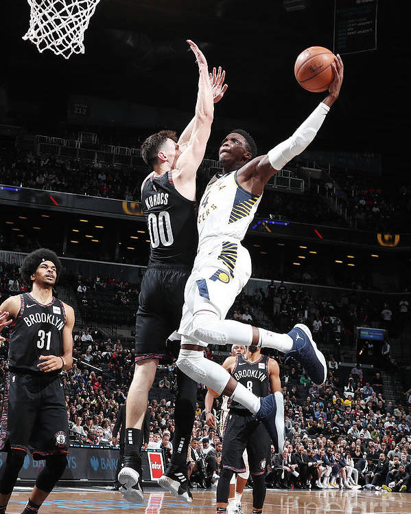 Nba Pro Basketball Poster featuring the photograph Victor Oladipo by Nathaniel S. Butler