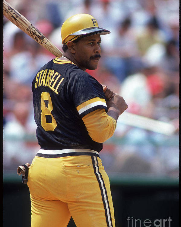 1980-1989 Poster featuring the photograph Willie Stargell by Rich Pilling