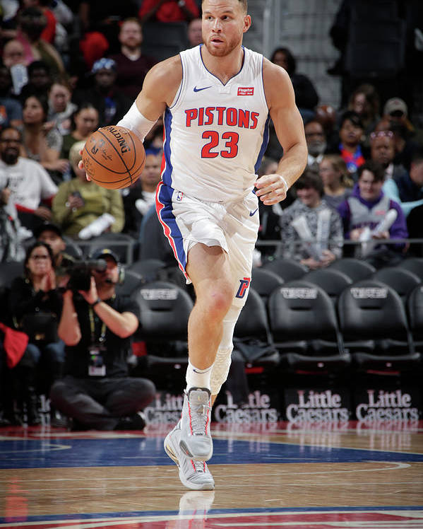 Nba Pro Basketball Poster featuring the photograph Blake Griffin by Brian Sevald