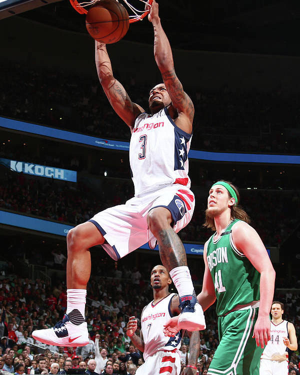 Playoffs Poster featuring the photograph Bradley Beal by Ned Dishman