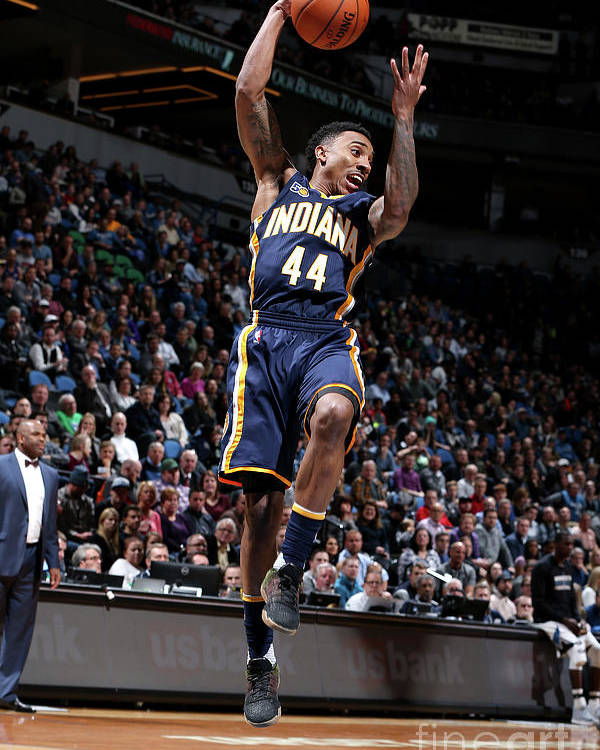 Nba Pro Basketball Poster featuring the photograph Jeff Teague by David Sherman