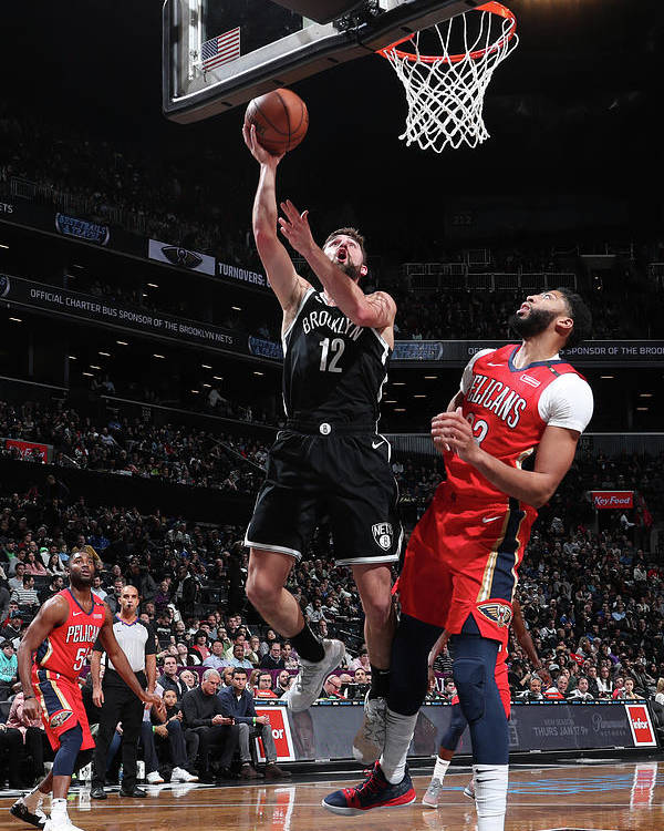 Nba Pro Basketball Poster featuring the photograph Joe Harris by Nathaniel S. Butler