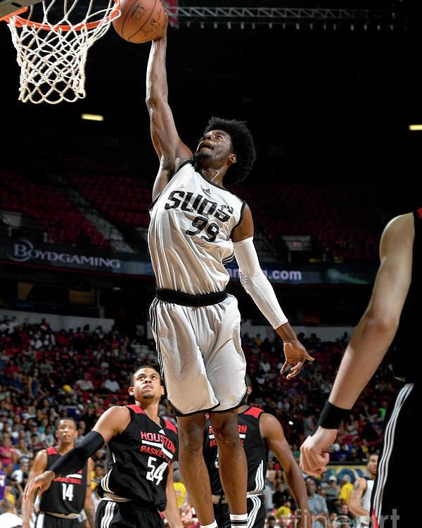 Nba Pro Basketball Poster featuring the photograph Josh Jackson by Garrett Ellwood