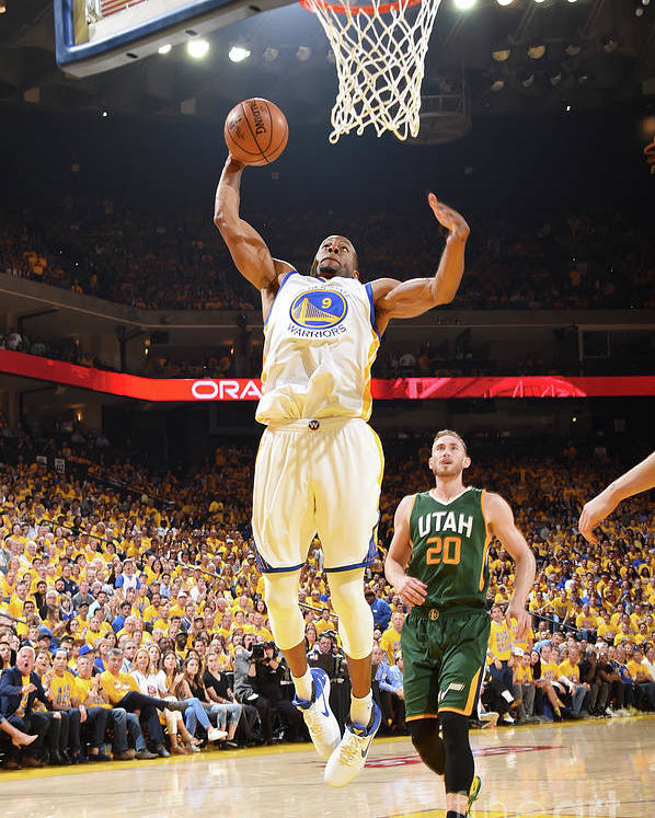 Playoffs Poster featuring the photograph Andre Iguodala by Andrew D. Bernstein