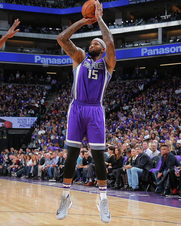 Nba Pro Basketball Poster featuring the photograph Demarcus Cousins by Rocky Widner