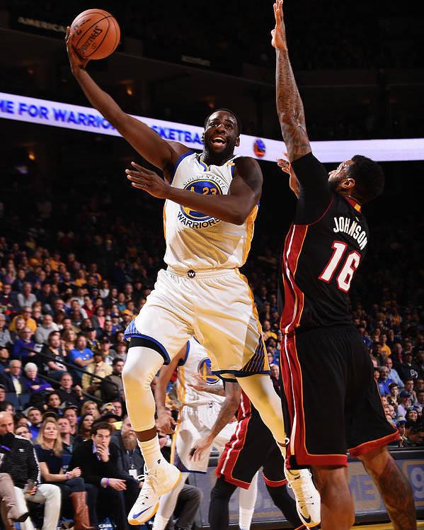 Nba Pro Basketball Poster featuring the photograph Draymond Green by Noah Graham