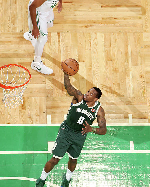Playoffs Poster featuring the photograph Eric Bledsoe by Nathaniel S. Butler