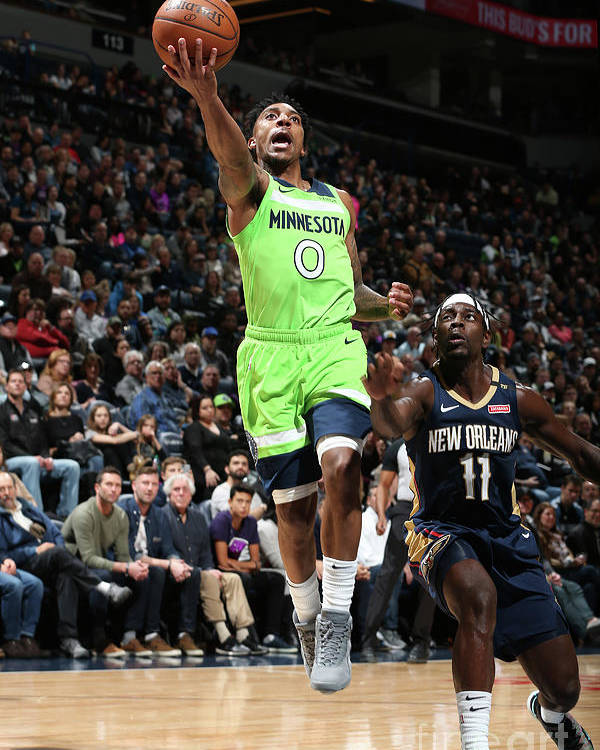 Nba Pro Basketball Poster featuring the photograph Jeff Teague by David Sherman