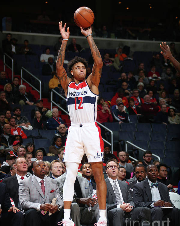 Nba Pro Basketball Poster featuring the photograph Kelly Oubre by Ned Dishman
