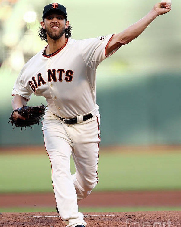 San Francisco Poster featuring the photograph Madison Bumgarner by Elsa
