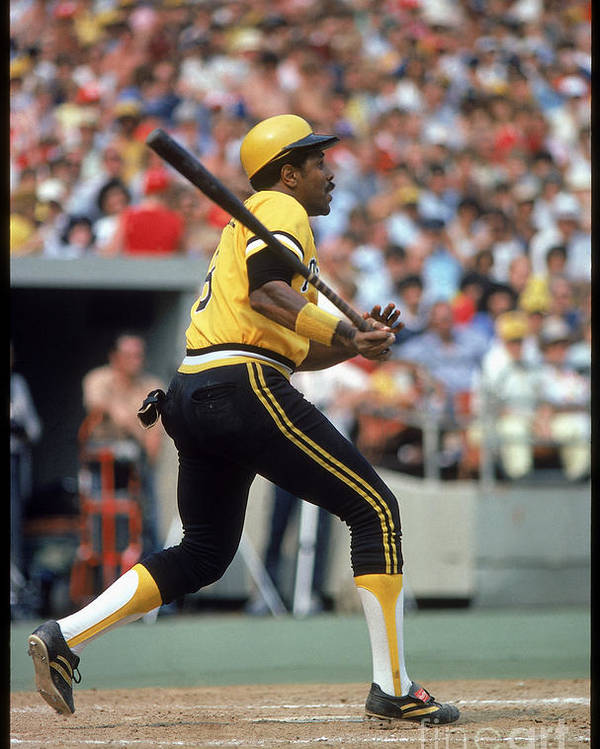 Sports Bat Poster featuring the photograph Willie Stargell by Rich Pilling