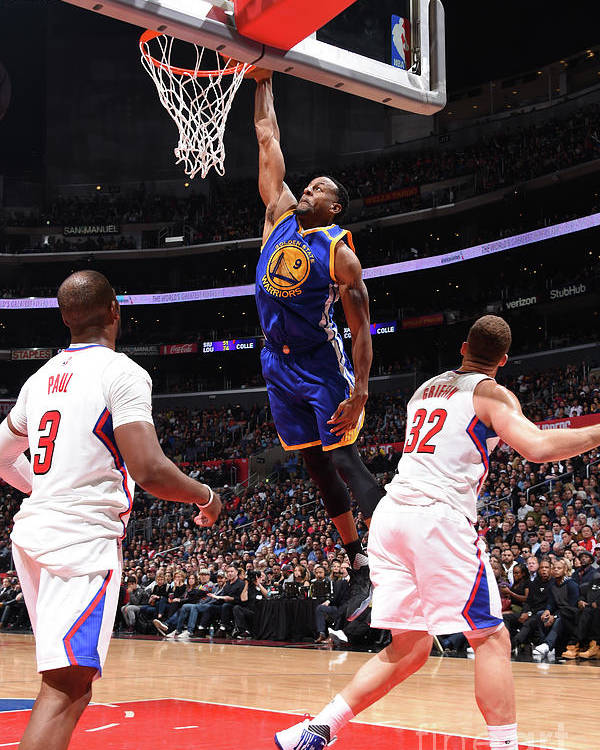 Nba Pro Basketball Poster featuring the photograph Andre Iguodala by Andrew D. Bernstein