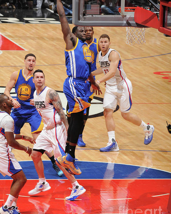 Nba Pro Basketball Poster featuring the photograph Draymond Green by Andrew D. Bernstein